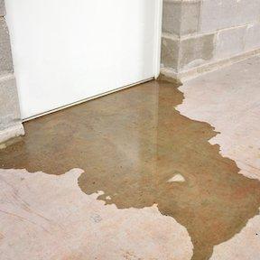 water in basement