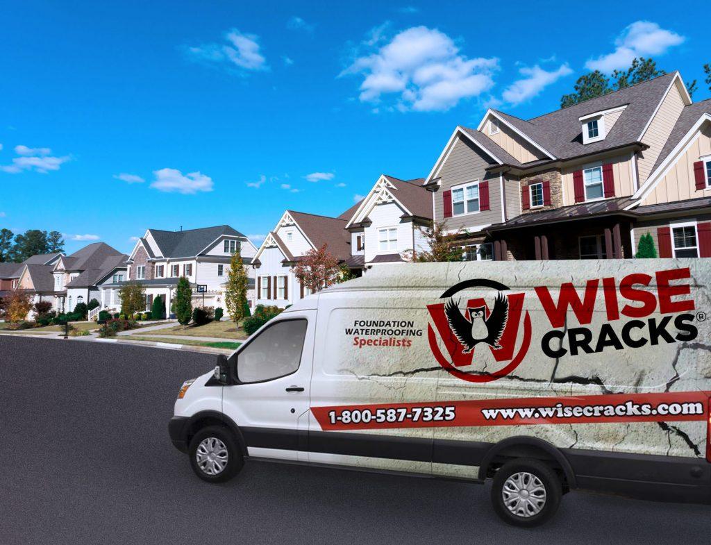 wise cracks home service van